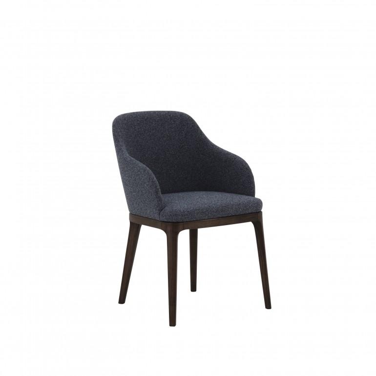 5305 modern style wood armchair carmela