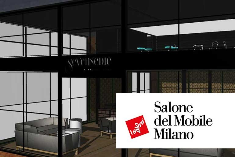 Sevensedie is looking forward to meet you at I Saloni Milano 2018, hall 2 stand H24