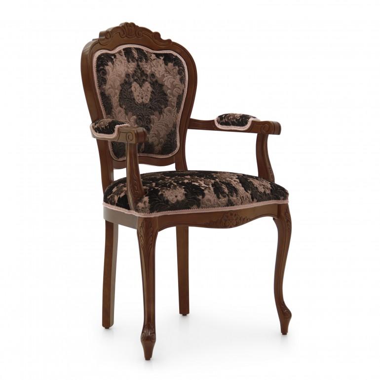 5353 classic style wood armchair miledi2