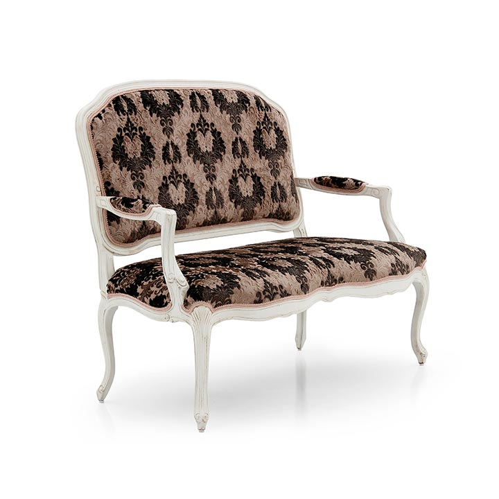 54 classic style wood sofa teseo