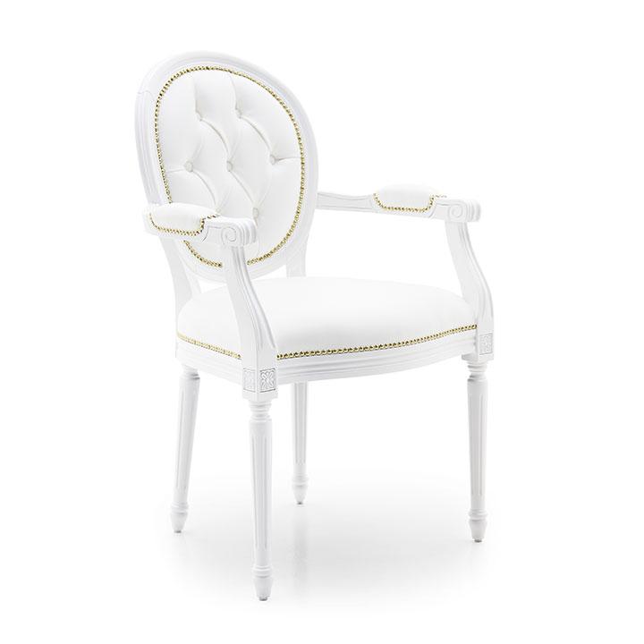 540 classic style wood armchair luigi6