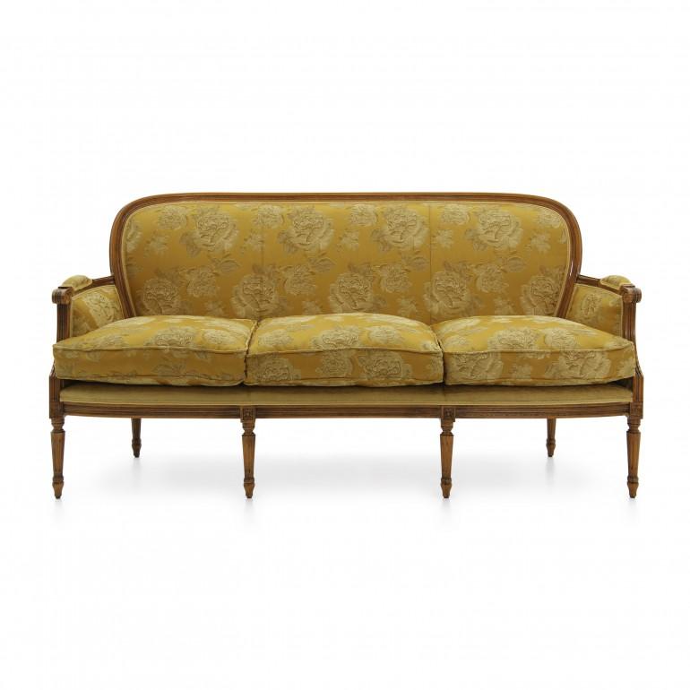 5413 classic style wood sofa iside b