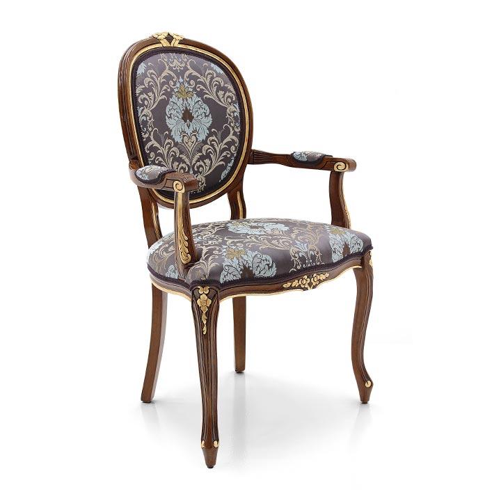 543 classic style wood armchair kiev2