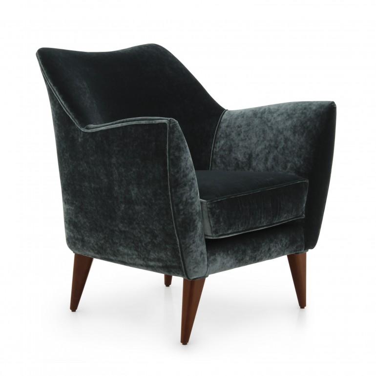5430 modern style wood armchair split4