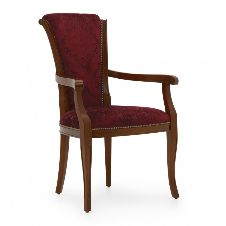 5469 classic style wood armchair brooklyn