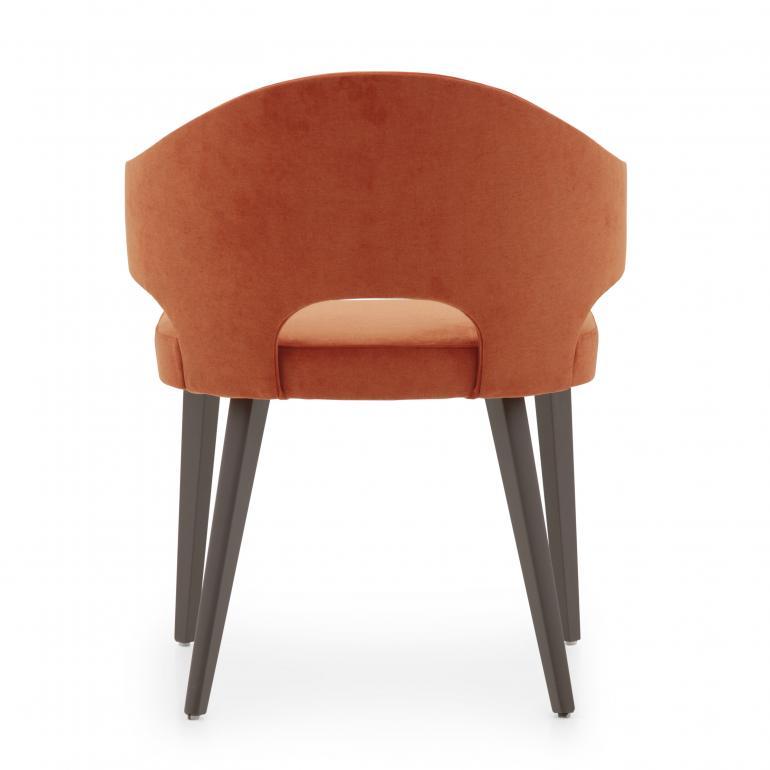 5499 modern style wood armchair eva4