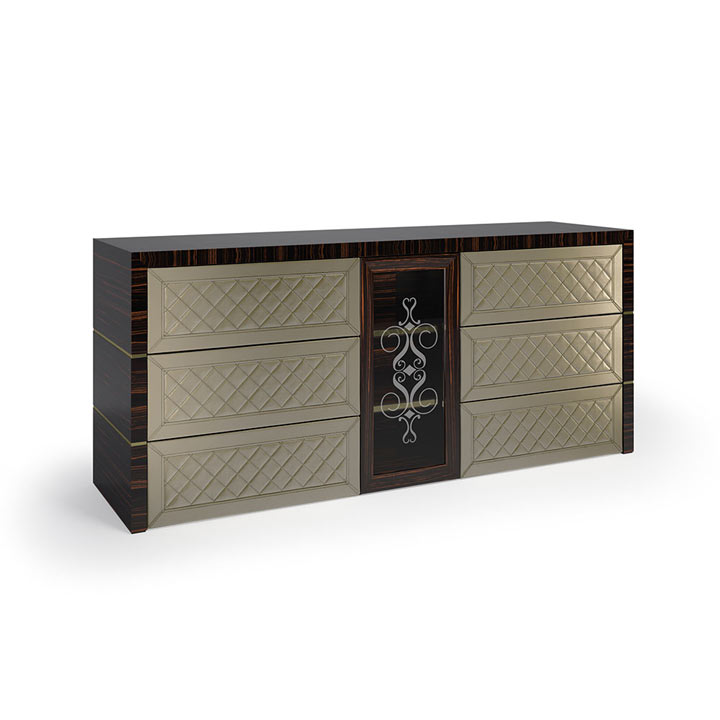 55 modern style wood sideboard giulius