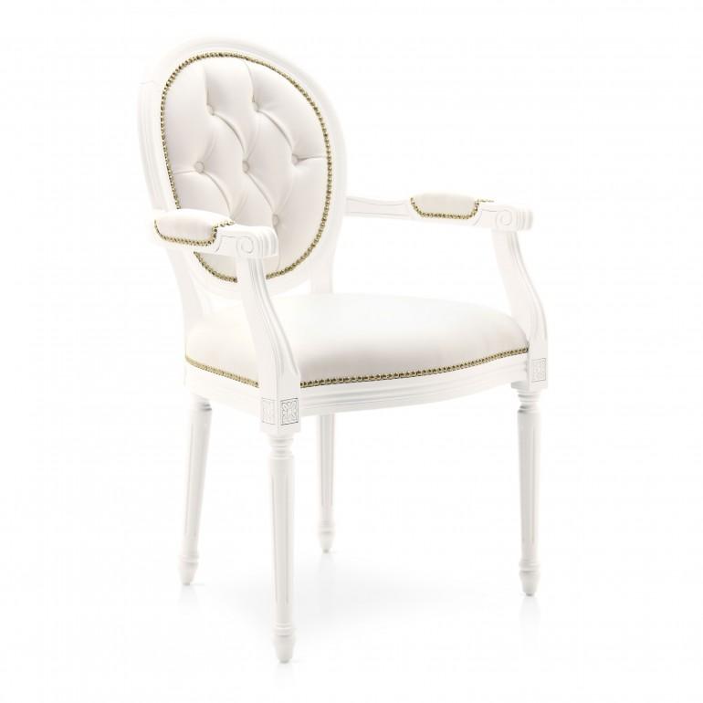 5559 classic style wood armchair luigi6