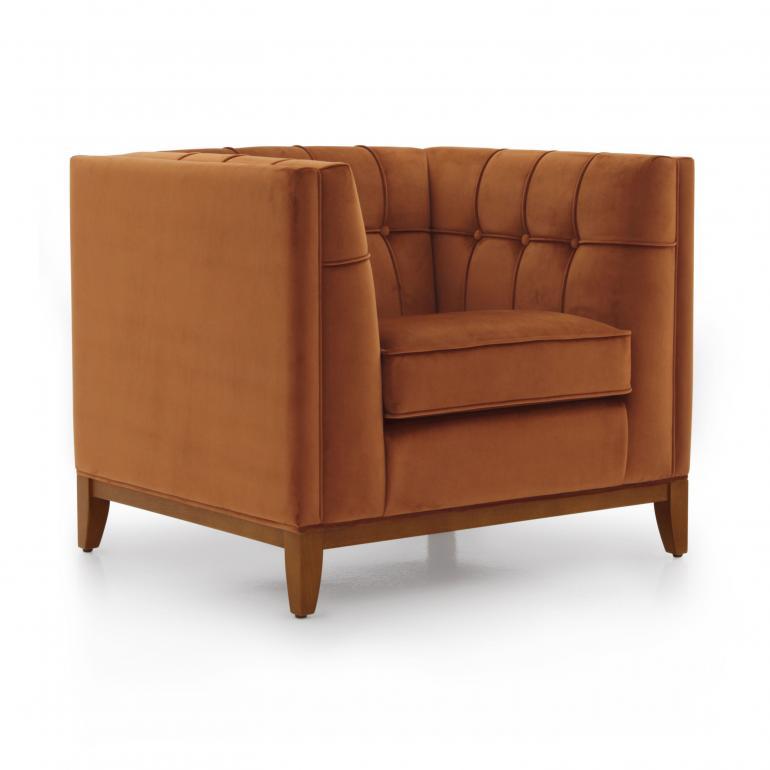 5599 modern style wood armchair lixis4