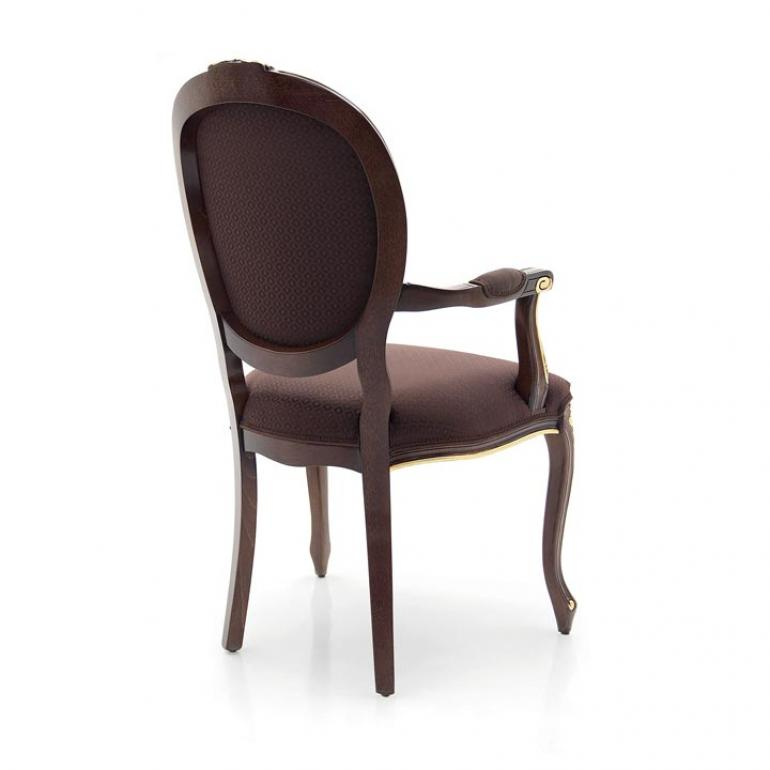 5603 classic style wood armchair rousseau3