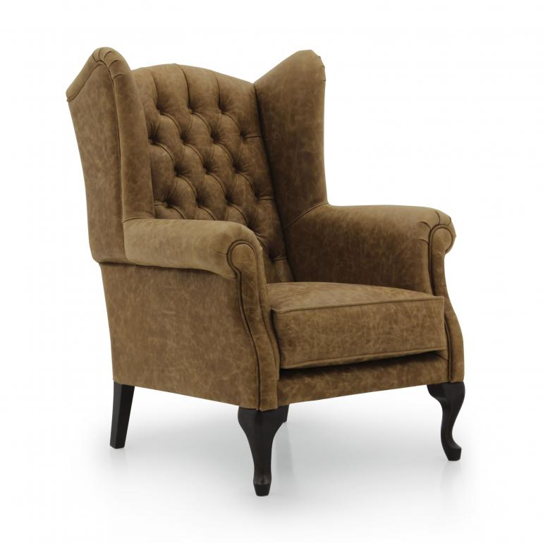 Classic Style Armchair Made Of Wood Old England