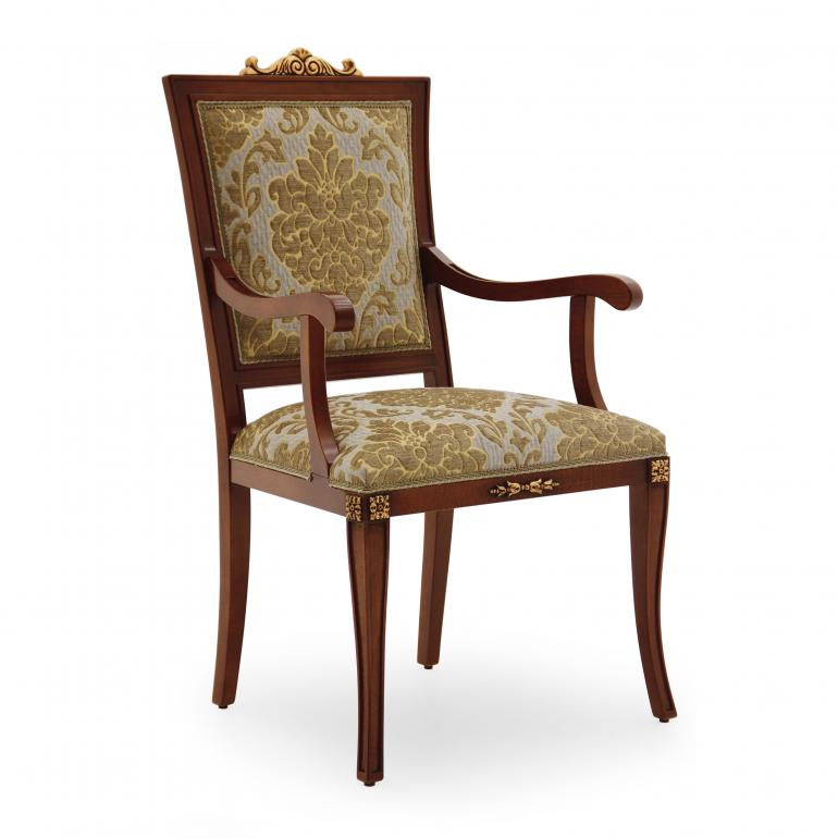 5629 classic style wood armchair lorena2