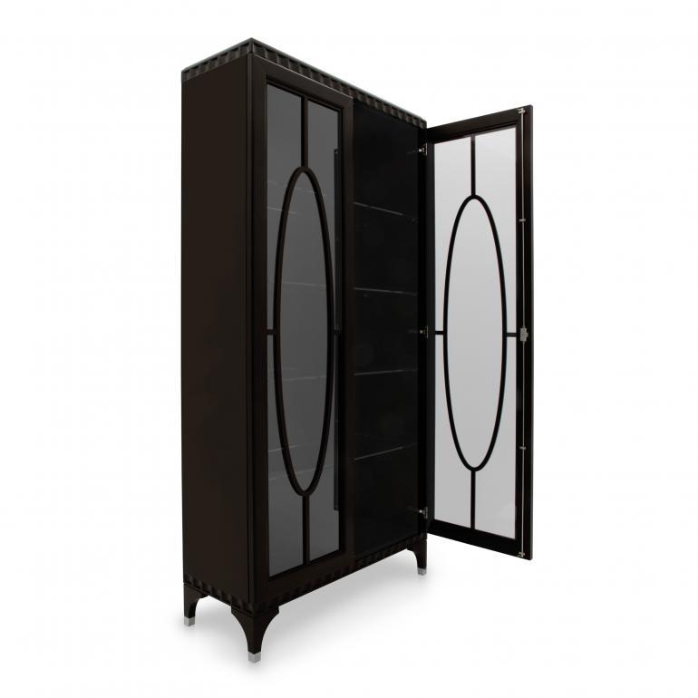 5653 classic style wood glasscupboard ellipse5