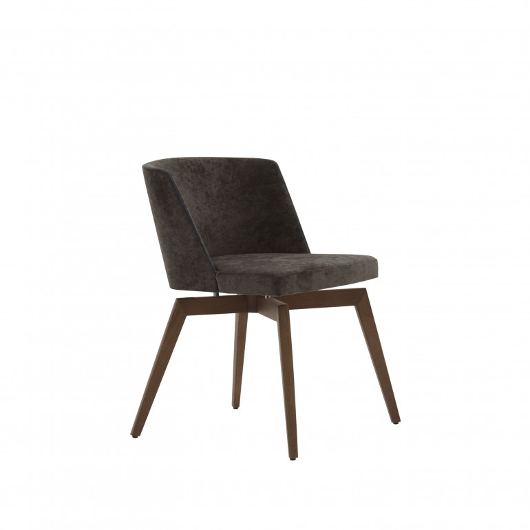 5753 modern style wood chair marta