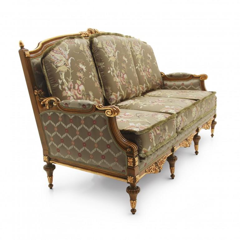 5782 classic style wood sofa giove b4