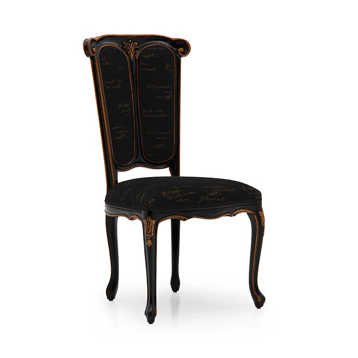 58 classic style wood chair petrarca