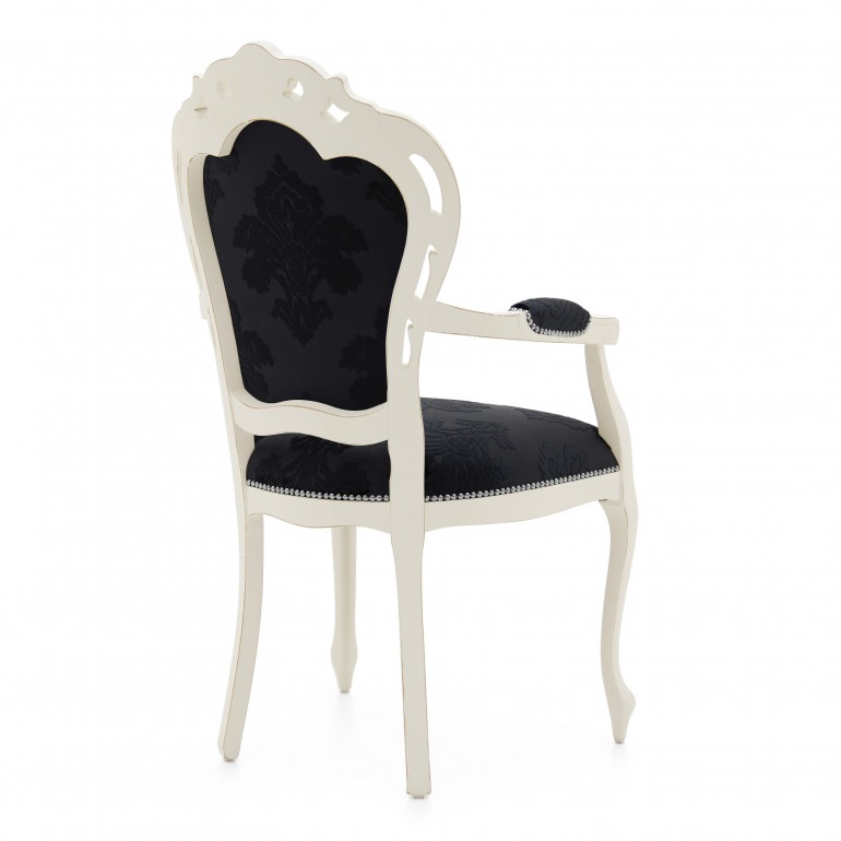 5802 classic style wood armchair traforata3