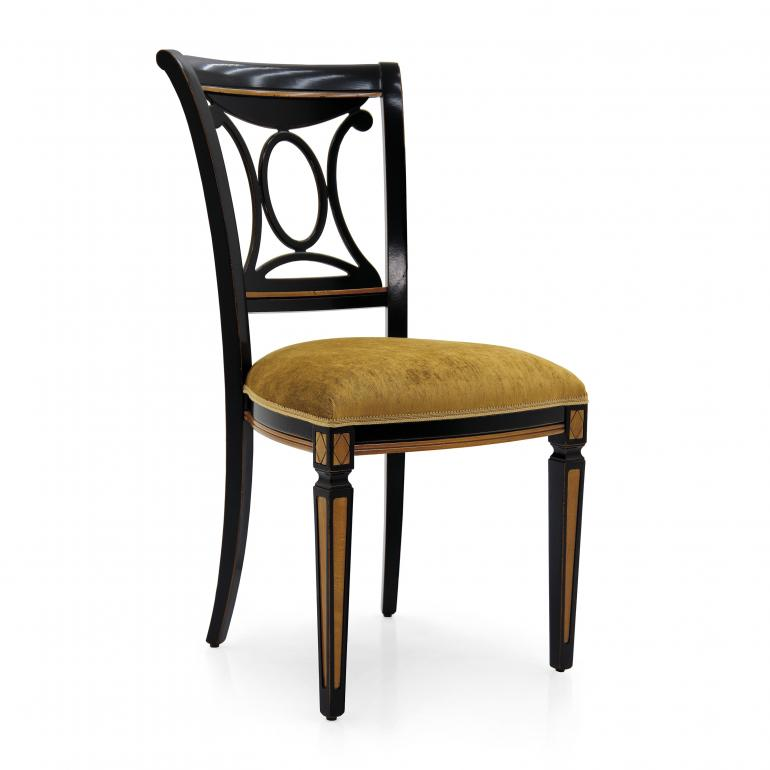 5867 classic style wood chair archetto