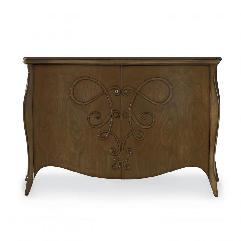 5936 classic style wood sideboard butterfly