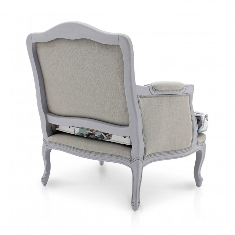 5955 classic style wood armchair cloe5