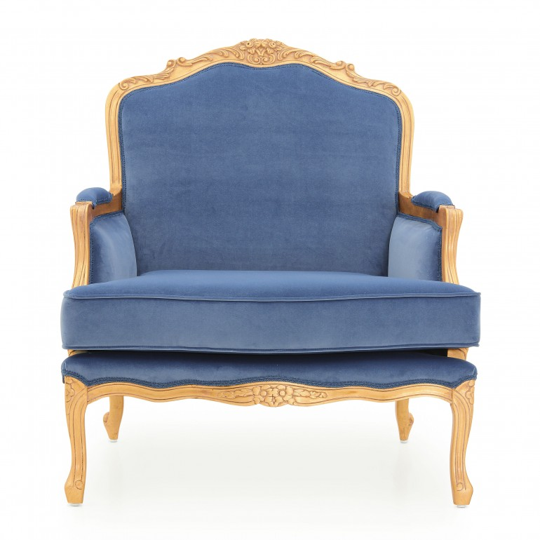 5978 classic style wood armchair spagna b5