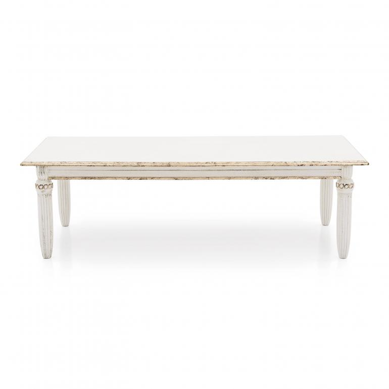 6 classic style wood table augusto