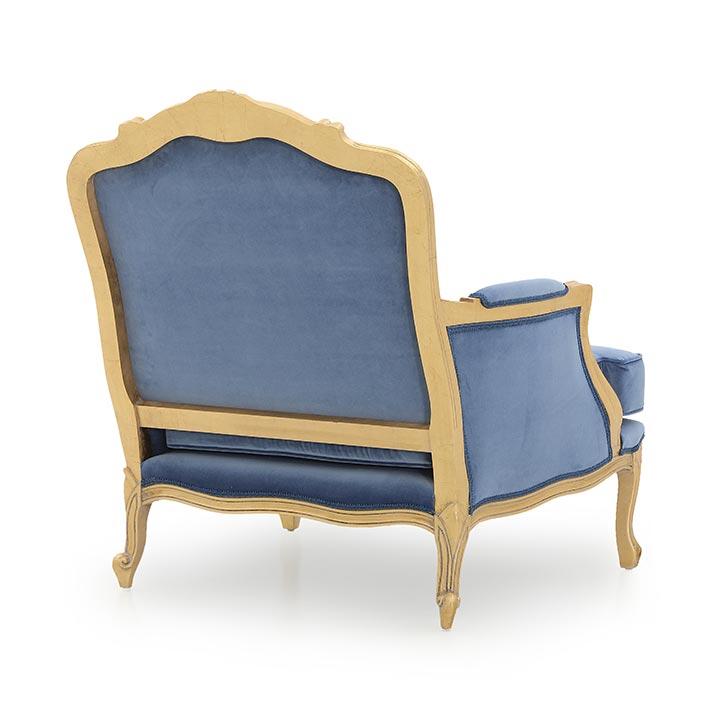 601 classic style wood armchair spagna b6