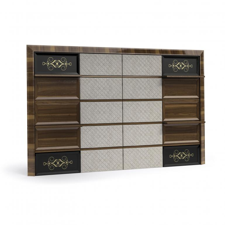 61 contemporary style wood fitted wall modulus 8040