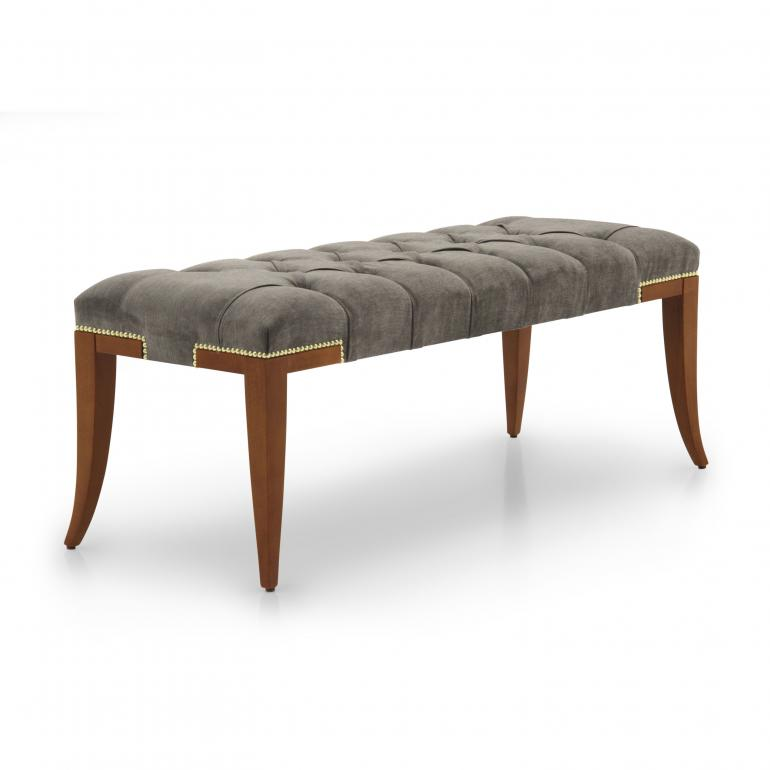 6139 modern style wood bench idra6