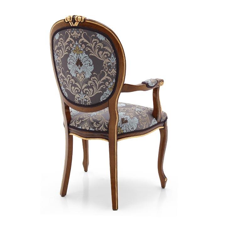 615 classic style wood armchair kiev3