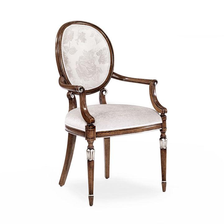 62 classic style wood armchair olga
