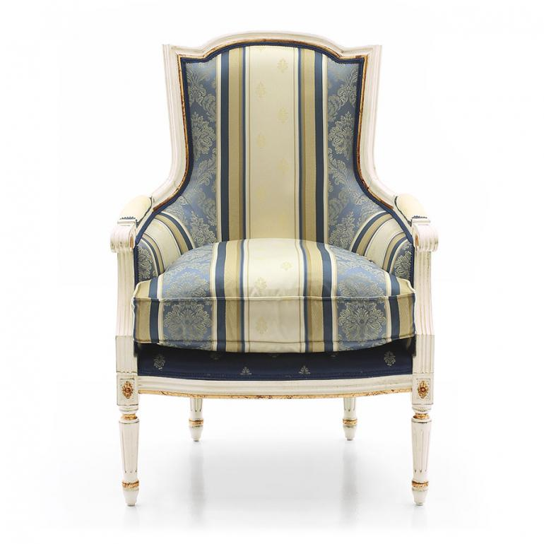 6258 classic style wood armchair victoria
