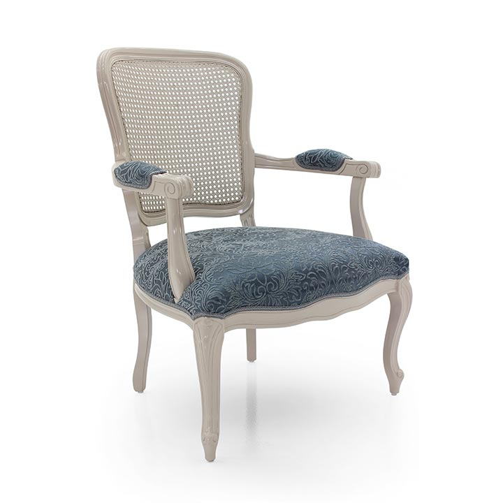 63 classic style wood armchair astrid