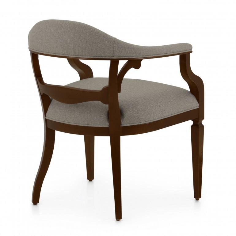 6310 classic style wood armchair taurus b4