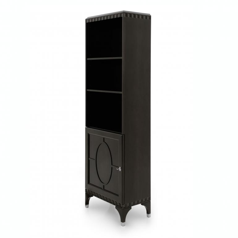 modern style wooden bookcase