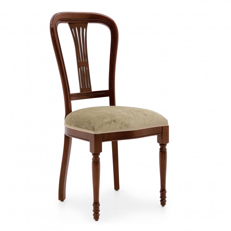 6404 classic style wood chair moderna
