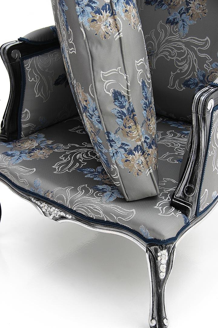 645 classic style wood armchair enea11
