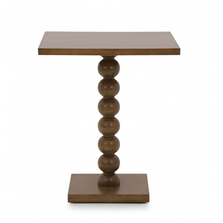 6486 modern style wood tall table custom033