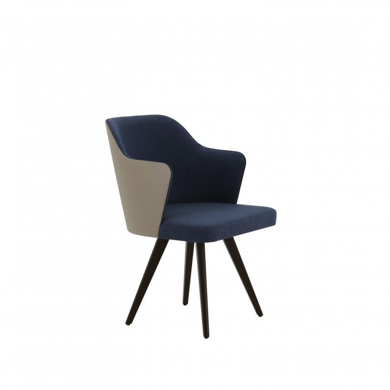 65 modern style wood armchair custom12
