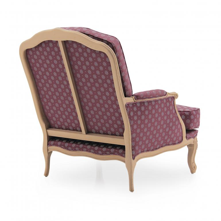 653 classic style wood armchair acca8