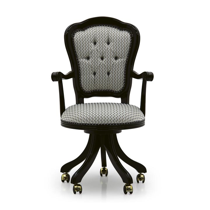 653 classic style wood armchair flavia3