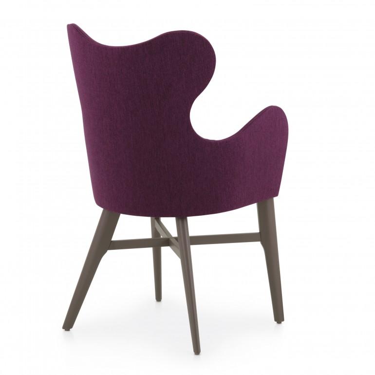 6535 modern style wood armchair auribus5