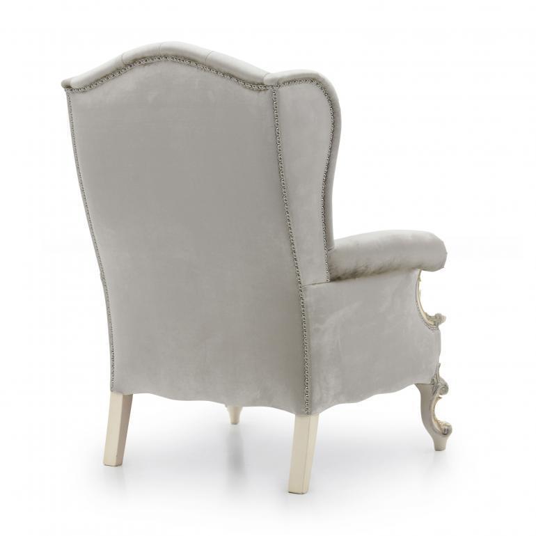 6543 classic style wood armchair eneide8