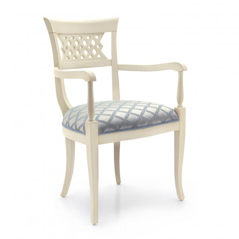 66 classic style wood armchair svevo