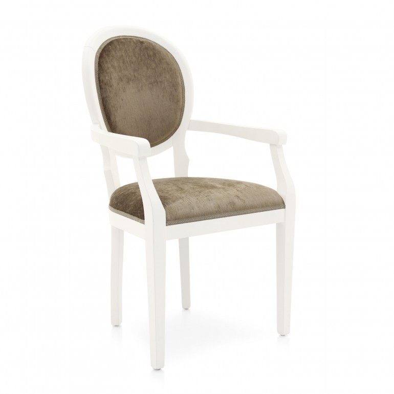 6707 modern style wood armchair julia2