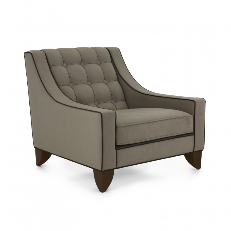 6720 contemporary style wood armchair giunone8