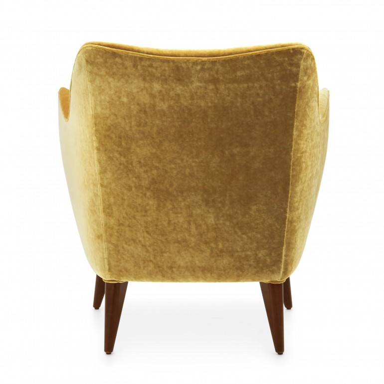 680 modern style wood armchair split8