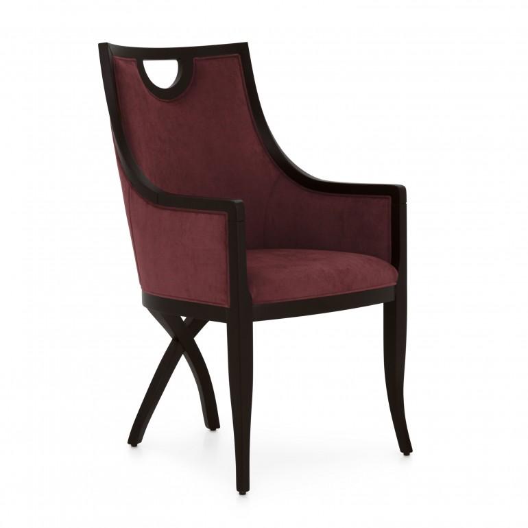 6805 classic style wood armchair kriz2