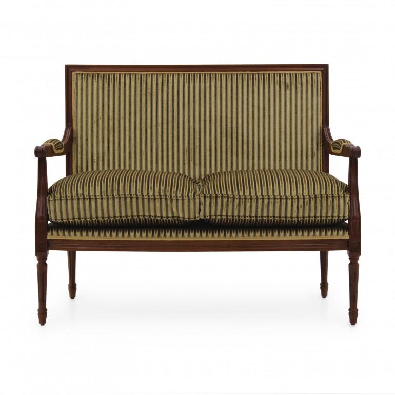 6806 classic style wood sofa luigi c