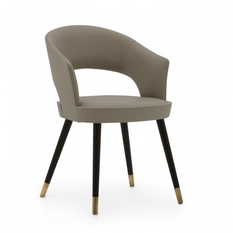 6839 modern style wood armchair lucrezia6